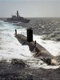 British n-sub in India for naval war game