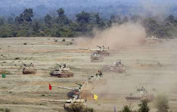 Army's desert exercise enters crucial phase