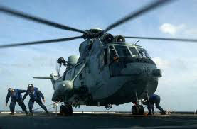 Fire in Indian Navy chopper; 13 on board safe