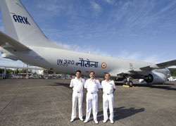 Boeing P-8I Aircraft for Indian Navy Completes 1st Flight
