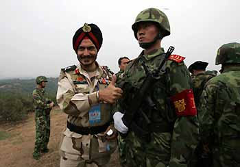Indian military team's China visit is on