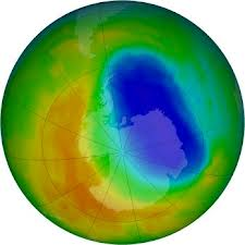 Ozone hole second smallest in 20 years