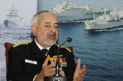 China's naval modernisation a 'major, major concern': Indian navy chief