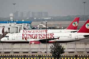 Mumbai airport authorities seize Kingfisher planes