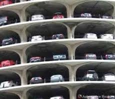 Multi-level car parking for Airport Metro commuters