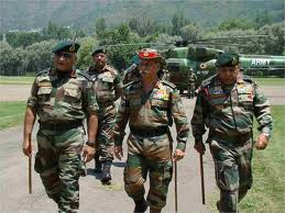 Army chief reviews Kashmir border security