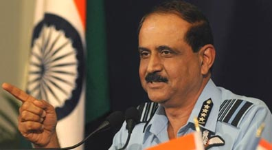 IAF chief to visit Singapore air show