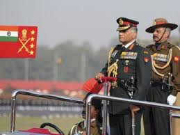 Indian Army chief-designate conferred medal for distinguished service