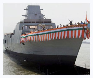 India's new frigate INS Teg to be inducted April 27