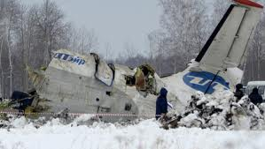 31 die, 12 survive in Russian plane crash