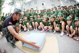Military school students to learn Chinese