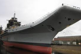 Indian aircraft carrier's sea trials postponed