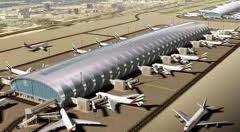 Mini-city  just for A380s at Dubai airport