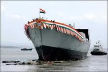 Antony to commission Indian-built warship Saturday