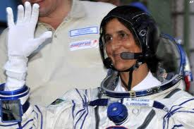 Sunita Williams takes over space station command