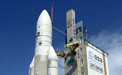 Indian satellite launch from French Guiana Sep 29