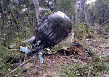 IAF chopper attacked by Maoists in Chhattisgarh, crew safe