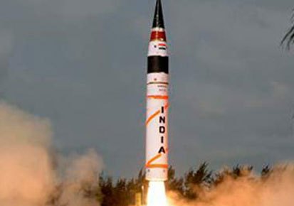 N-capable missile test fired for second time in two days