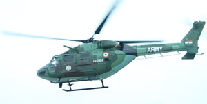 Dhruv Helicopter Clocks 1,00,000 Flying Hours