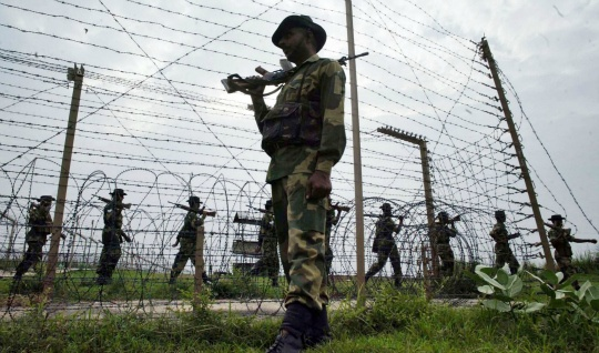 Pakistan again breaches LoC ceasefire