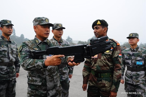 India, China joint anti-terror training ends