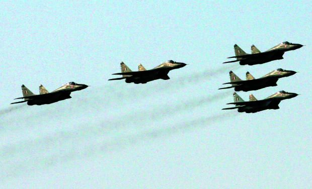 President, PM witness IAF firepower display