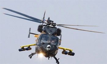 IOC accorded to weaponised RUDRA helicopter, HAL to hand over 2 to the army