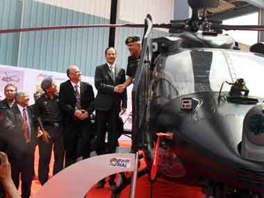 Indian Army gets light armed chopper Rudra