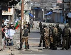 Curfew continues for fourth day in Kashmir