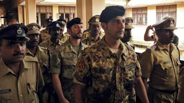 'Italian marines should appear in uniform before Indian court'