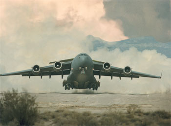 Boeing Transfers 1st C-17 to Indian Air Force