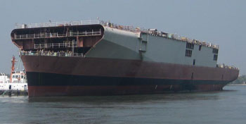 INDIAN NAVY'S QUEST FOR AN INDIGENOUS AIRCRAFT CARRIER