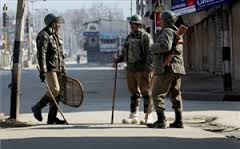 Second day of curfew in Kashmir Valley