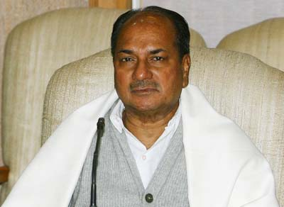 China has not occupied Indian land afresh: Antony