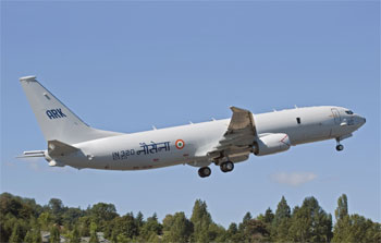 India looking to get 4 additional Boeing P-8I