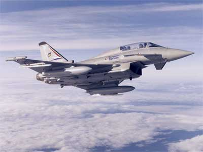Eurofighter make fresh claim on MMRCA