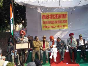 One rank, one pension for retired India soldiers