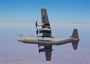 IAF Super Hercules crashed, 5 killed