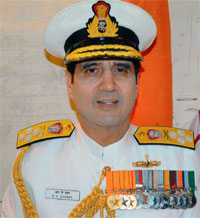 Dhowan is new chief of Indian Navy