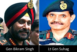 Lt. Gen. Suhag named new army chief