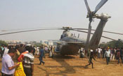 IAF chopper makes emergency landing in Mumbai