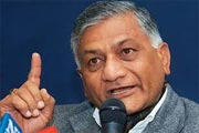 V.K. Singh stirs row with 'dog' remark, clarifies