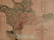 Modi gifts Singapore PM reproduction of 1849 map