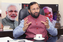 India won't be bullied into a pact at Paris climate talks: Javadekar