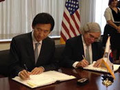 South Korea-US nuclear energy accord to come into force