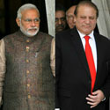 Modi lands in Pakistan for talks with Sharif