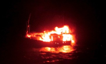 Video shows official saying he ordered boat blown up