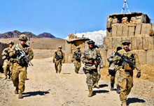 Australia marks completion of military operation in Afghanistan