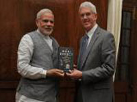 Modi s defining trait is determination, says British author