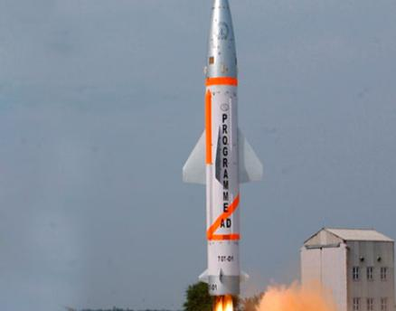 India's missile interceptor fails test